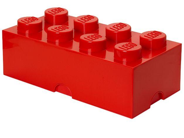 LEGO Movie 2: Storage Brick 8 (Bright Red)