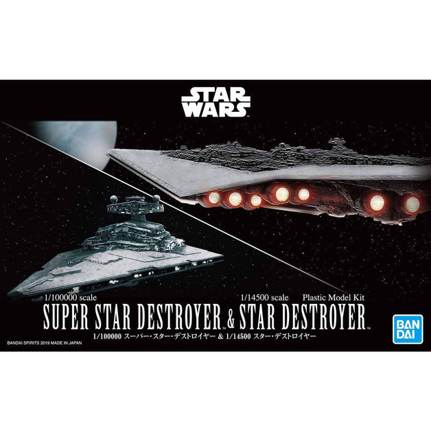 1/10000 Super Star Destroyer & 1/14500 Star Destroyer - Model Kit