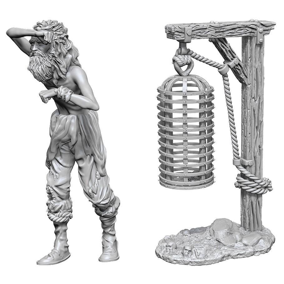 WizKids Deep Cuts: Unpainted Miniatures - Hanging Cage image