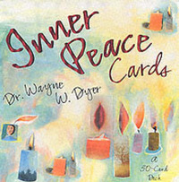 Inner Peace Cards: A Deck of 50 Affirmation Cards to Help You Find Inner Peace by Wayne W Dyer image