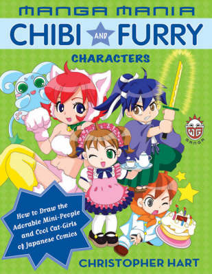 Manga Mania Chibi And Furry Characters by Christopher Hart image