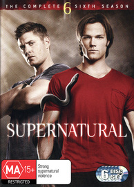 Supernatural - The Complete Sixth Season on DVD