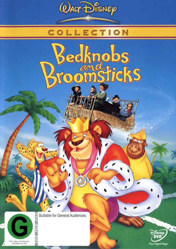 Bedknobs & Broomsticks (1971) on DVD
