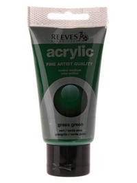 75ml Reeves Fine Acrylic - Grass Green