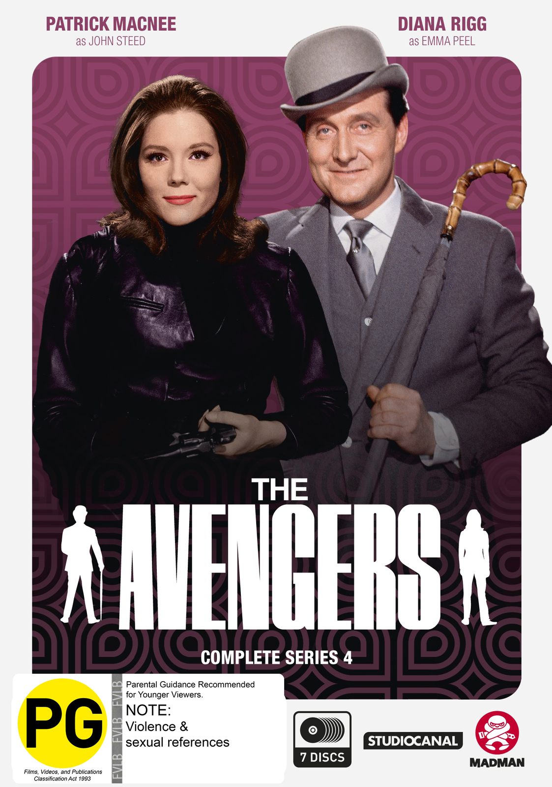 The Avengers - Complete Series 4 on DVD image