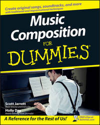 Music Composition For Dummies by Scott Jarrett image