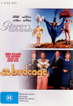 Adventures of Priscilla Queen of the Desert / Birdcage (2 Disc Set) on DVD image