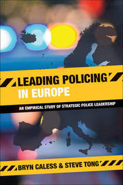 Leading policing in Europe by Bryn Caless image