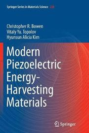 Modern Piezoelectric Energy-Harvesting Materials by Christopher R. Bowen image