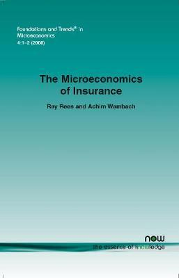 Microeconomics of Insurance by Ray Rees image