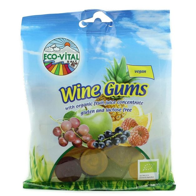 Eco-Vital Wine Gums 100g
