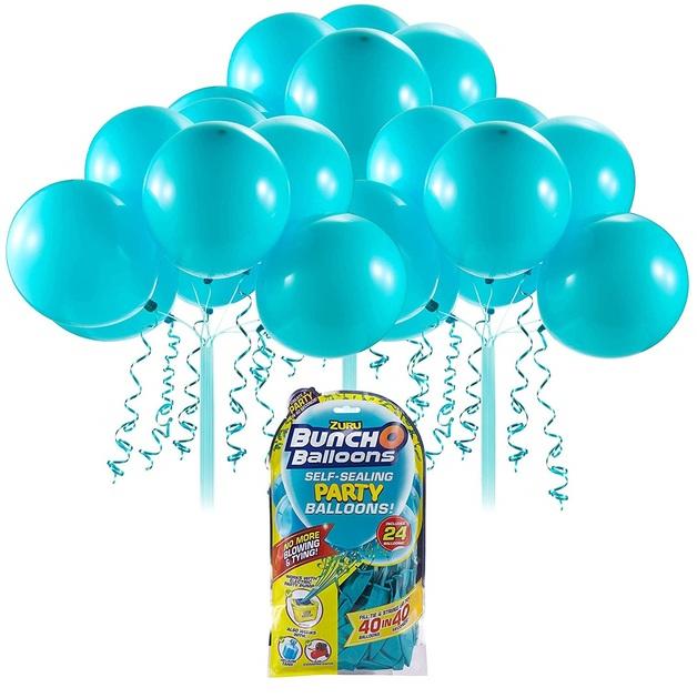 Bunch O' Balloons: Self Sealing Party Balloons - (24 x Teal)