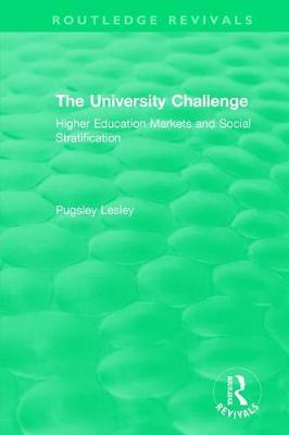 The University Challenge (2004) by Pugsley Lesley