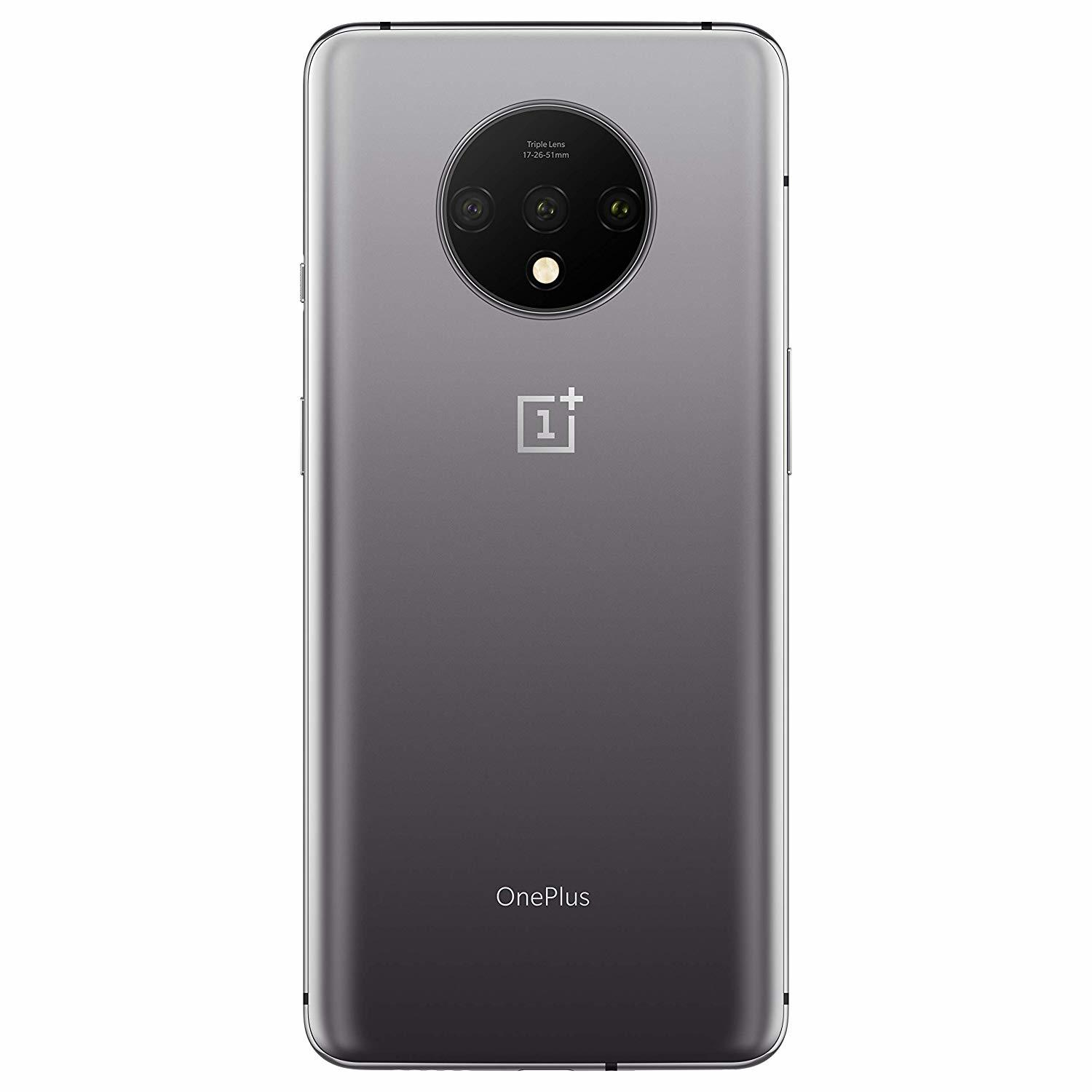 OnePlus 7T Smartphone (8GB RAM, 128GB, Frosted Silver) image