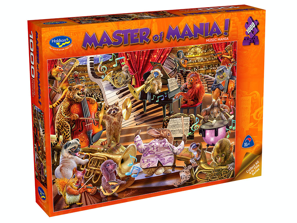 Holdson: 1000 Piece Puzzle - Master of Mania (Music Mania) image