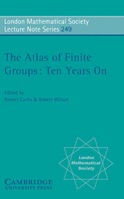 The Atlas of Finite Groups - Ten Years On image