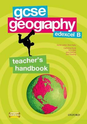 GCSE Geography for Edexcel B Teacher's Handbook by Bob Digby image