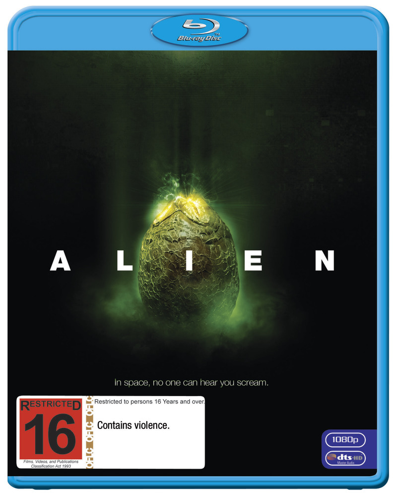 Alien on Blu-ray image