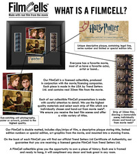 FilmCells: Montage Frame - Harry Potter (Film Series - UK)
