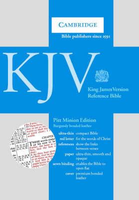 KJV Pitt Minion Reference Edition, R182 Burgundy Bonded Leather: KJV Pitt Minion Reference Edition, R182 Burgundy Bonded Leather