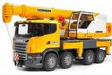 Bruder Scania Liebherr Crane Truck
