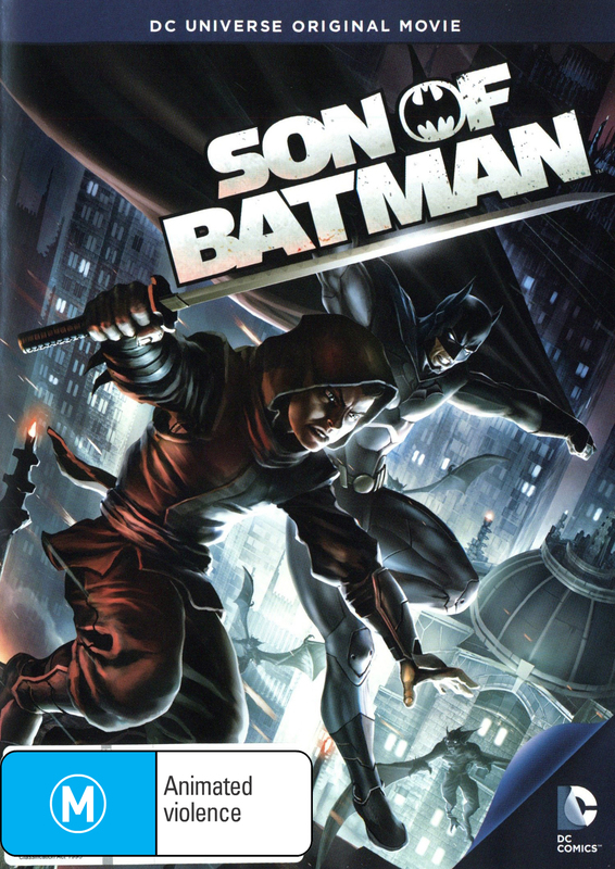 Batman: Son of Batman on DVD