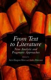 From Text to Literature image