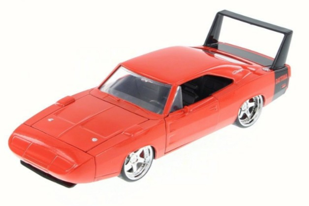 Jada: 1/24 Dodge Charger Ht Diecast Model (Orange)