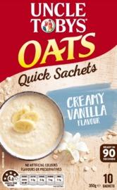 Uncle Tobys Oats (Creamy Vanilla, 350g)