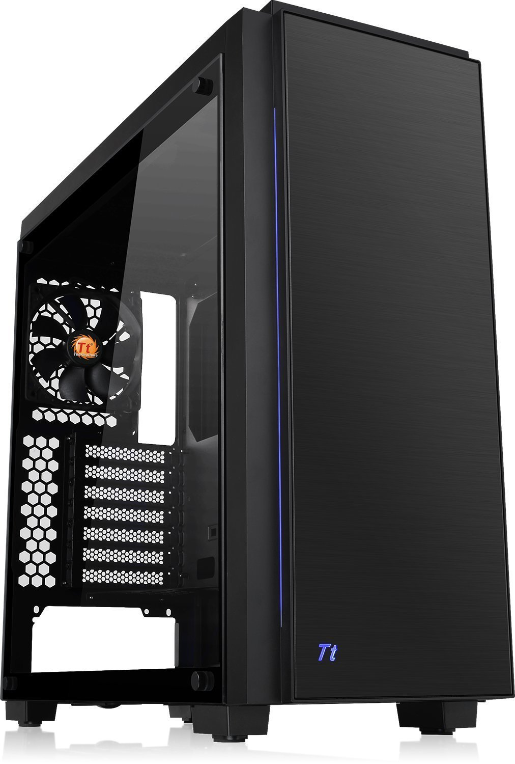 Thermaltake: Versa C23 Tempered Glass RGB Edition Mid-Tower Chassis image