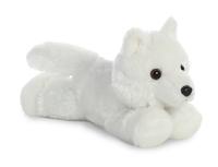 Aurora: Mini Flopsies - White Wolf
