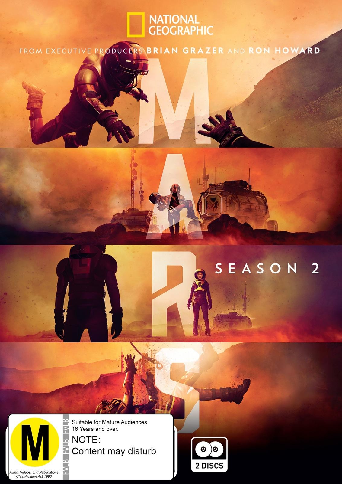 Mars: Season 2 on DVD image