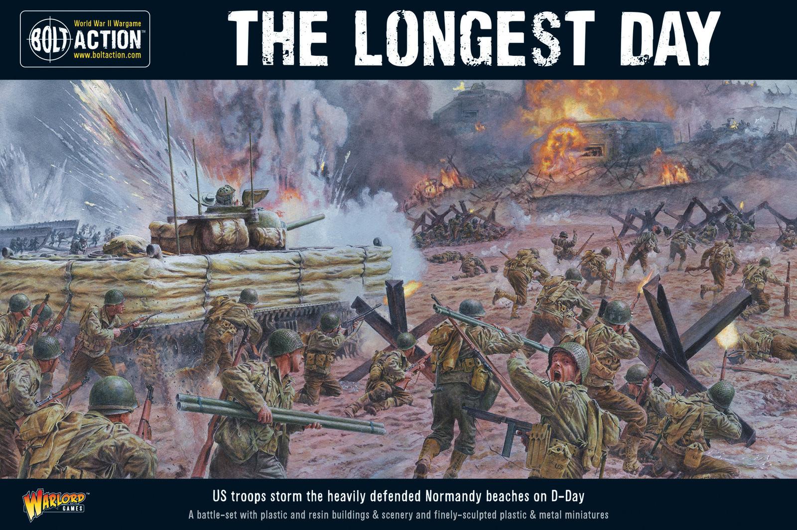 Bolt Action: The Longest Day. D-Day Battle-Set image