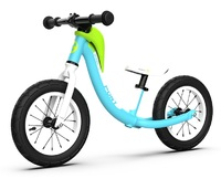 RoyalBaby: Pony Alloy Balance Bike - Blue