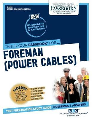 Foreman (Power Cables), 2034 by National Learning Corporation