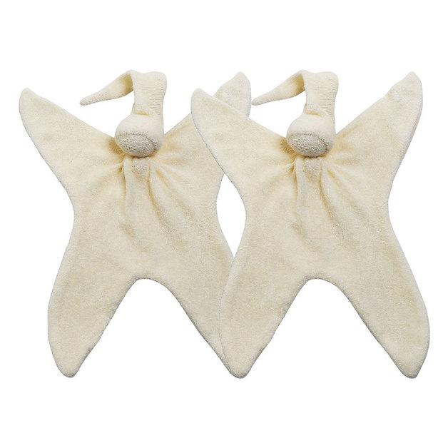 Cuski: Twin Miniboo Comforter - Cream