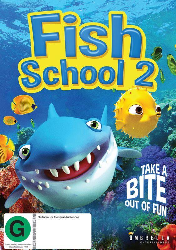 Fish School 2 on DVD