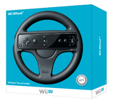 Wii U Wheel (Black) for Nintendo Wii U