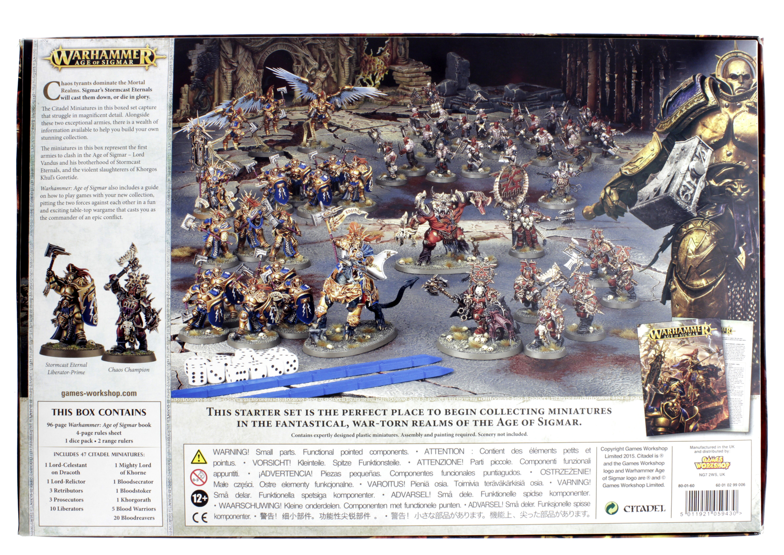 Warhammer Age Of Sigmar Boxed Set At Mighty Ape Australia