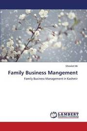 Family Business Mangement by Mir Showket
