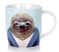 Annabel Trends: Zoo Portraits Coffee Mug - Sloth