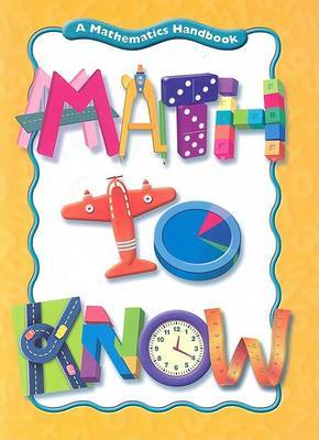 Math to Know by Mary C Cavanagh