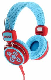 Moki Kids Safe Headphones - Blue/Red