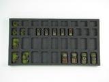 Battle Foam: Flames of War - 18 Troop 20 HQ Foam Tray (BFM-1)