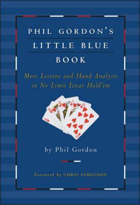 Phil Gordon's Little Blue Book by Phil Gordon image