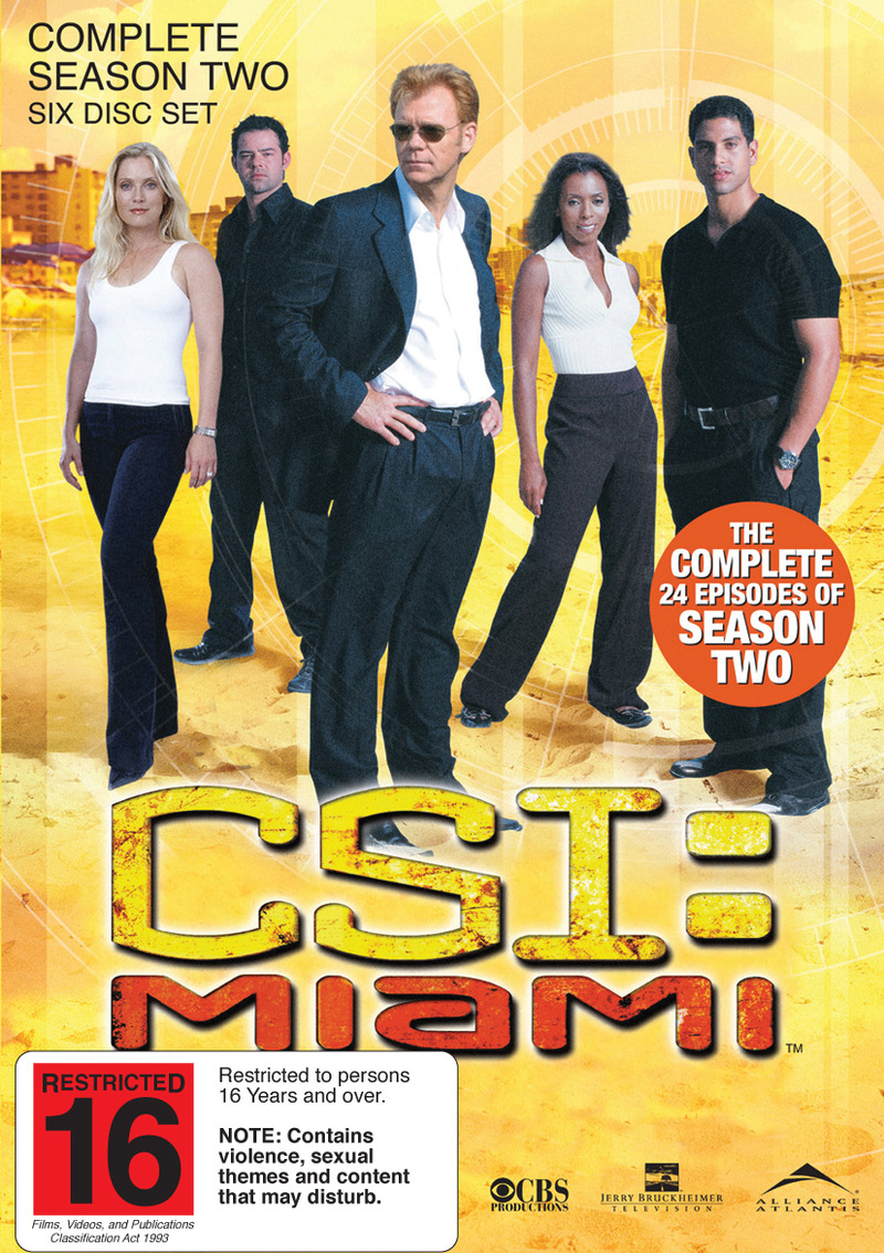 CSI - Miami: Complete Season 2 on DVD image