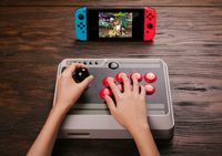 8Bitdo NES30 Arcade Stick (Switch, PC & Retro) for  image