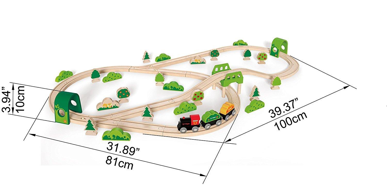 Hape: Forest Railway Set image