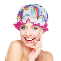 Unicorn Fantasy Shower Cap