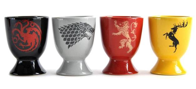 Game of Thrones Egg Cup Pack - Sigils